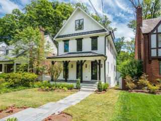 One of DC's Most Skilled Homebuilders Debuts Elegant Chevy Chase Home