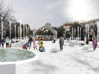 The Proposed Design for a Public Deck in Dupont Circle