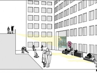 Movie Theater, Marketplace, Dog Run: The Design Options for a Downtown DC Alley