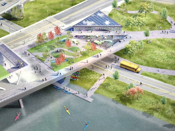 11th Street Bridge Park on Pace for 2023 Completion -- and the Anacostia May be Swimmable By Then