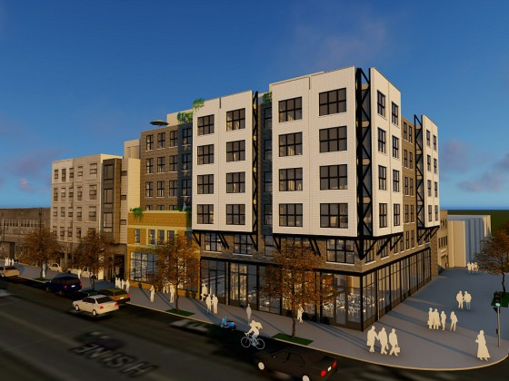 A 50-Unit Condo Development is Planned For the Center of H Street