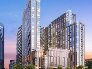 Renderings Revealed For Massive Rosslyn Holiday Inn Redevelopment