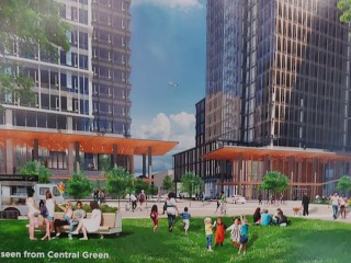 More Than a Banana Stand: New Renderings Revealed for Amazon's First Virginia Office Building