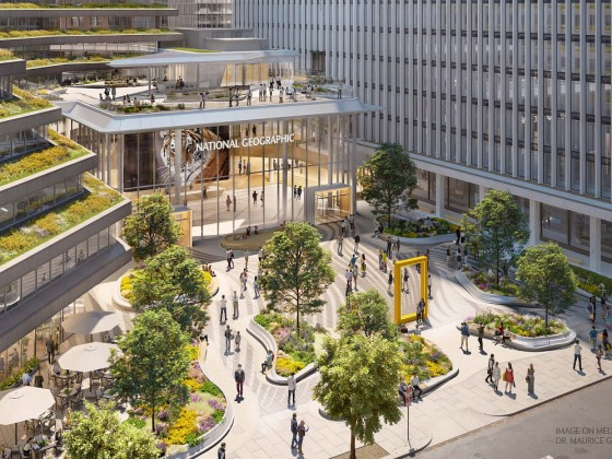 A New Gateway for DC's National Geographic Headquarters