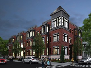 8-Townhome Development in Bloomingdale Backed By Washington Redskin Breaks Ground