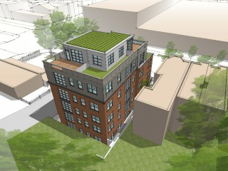 18 Apartments Proposed to Restore Contributing Historic Building in Navy Yard