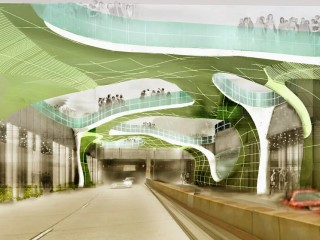 AIA Exhibit Offers Futuristic Vision for Dupont Underground