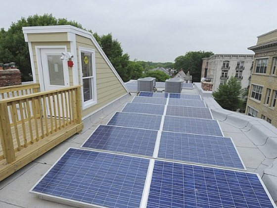 A Proposed Change Would Prohibit New Construction in DC From Blocking Solar Panels