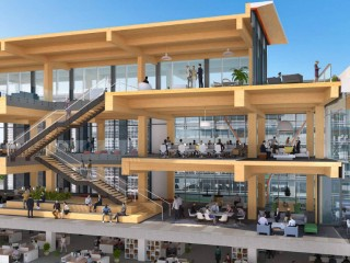 Timber! Two-Story Wood Addition Proposed For Office Building North of Nats Park