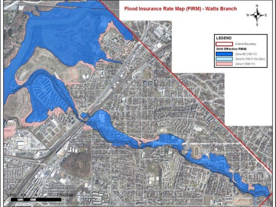 The DC Neighborhoods At Risk of Flooding As Early As Next Year