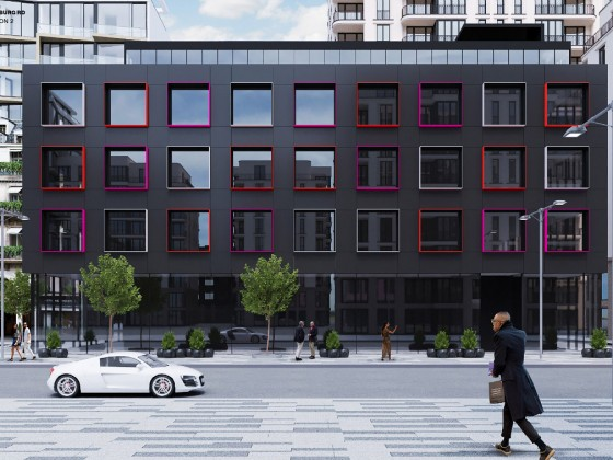 Karim Rashid Designs Striking Residential Building North of H Street