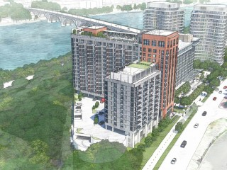 New Renderings Revealed as Key Bridge Marriott Goes Under Review