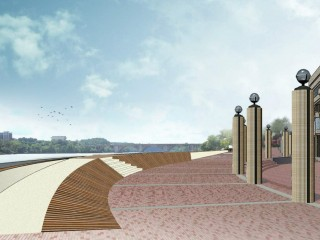 A New Flood Wall Proposed in Georgetown