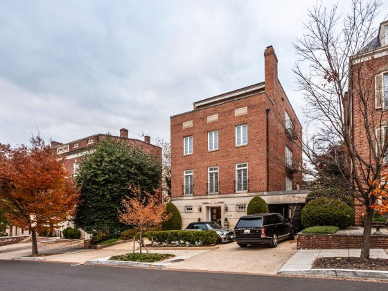 Jeff Bezos To Buy Another DC Home...The One Across the Street