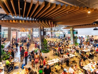 Most Prevalent New Neighborhood Amenity in 2019—Food Halls Everywhere