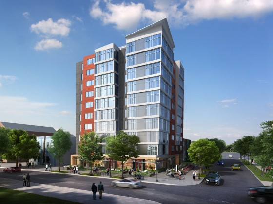 Ground Breaks on 76-Unit All-Affordable Development Near Audi Field