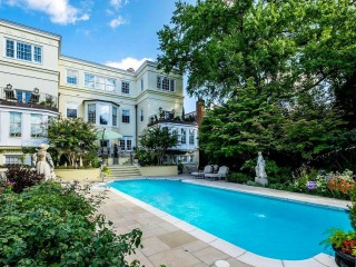 $15.5 Million Georgetown Estate Becomes DC's Most Expensive Home For Sale