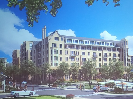 350 Apartments and a Park Proposed for Downtown Bethesda Block
