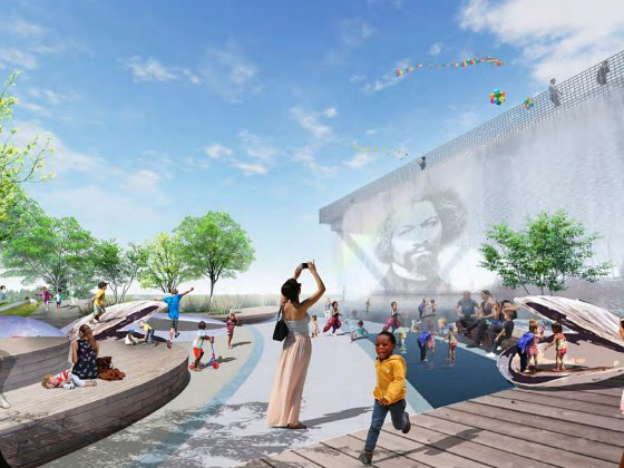 A Few New Looks For DC's 11th Street Bridge Park