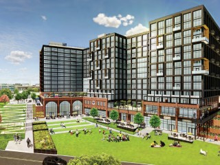 900 Units and a Food Hall Proposed Along the Anacostia Riverfront