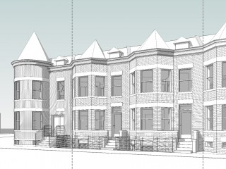 More Missing Middle? Two Wardman Flats in Truxton Circle Could Become 13 Units