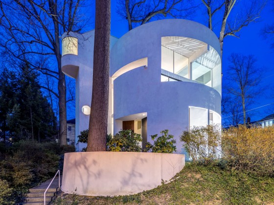 This Week's Find: One of Chevy Chase DC's Most Intriguing Homes