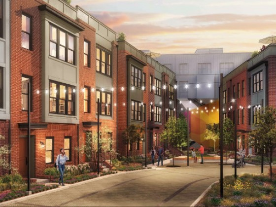 EYA's Riggs Park Townhouse Project Adds Senior Apartments, Looks to Break Ground