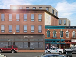 HPRB Approves Four-Story Design for Mount Pleasant Laundromat Redevelopment