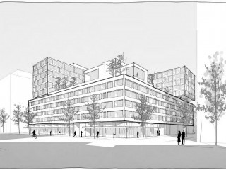 500 Units and a Public Courtyard: Urby's First Foray into DC May be at The Yards
