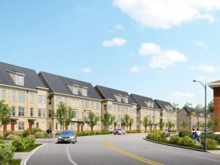Design Revealed for Nearly 90 Townhouses at St. Elizabeths East