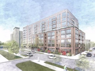 A New PUD Would Bring 215 Apartments Atop Retail to 7th and P Street