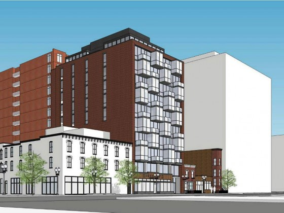 49 Condos Proposed for Former Hotel Site in Mount Vernon Triangle