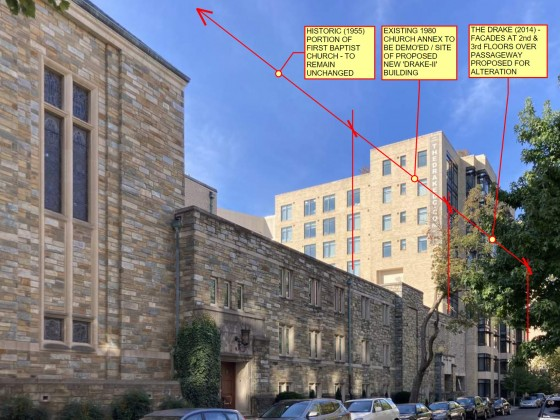 78 Apartments Proposed to Replace Part of Dupont Circle Church