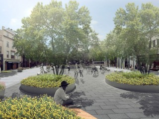 The Latest Design for the Dupont Circle Deckover, Complete with Bike Lanes