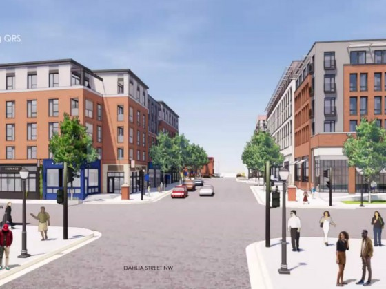 320 Units And a New Spin on Retail Pitched For Walter Reed
