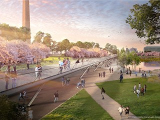 Five Design Concepts for How to Save the Tidal Basin from Flooding