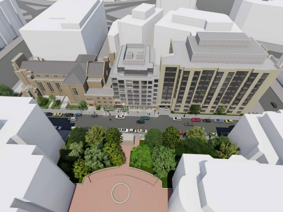 HPO Recommends Approval of 78 Apartments Proposed to Replace Part of Dupont Circle Church