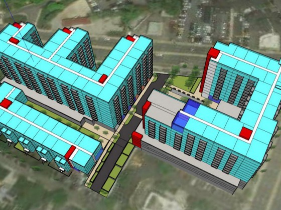 800 Units and Possibly Coliving + a Food Hall: The Pitch for a Prominent Wheaton Intersection