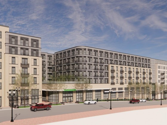 250 Apartments, Grocery Store Proposed at Columbia Pike CVS Site