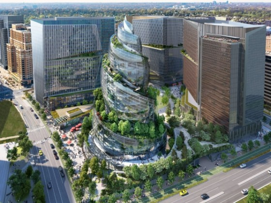 Amazon's Jaw-Dropping Design For HQ2
