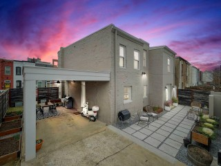 Before and After: From Three Houses to One School to One House off H Street
