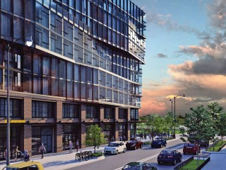 A Warmer Look for New Hotel/Apartment Development Near Nats Park