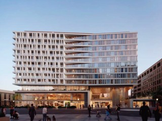 166 Apartments + 222 Hotel Rooms for Capitol Crossing Center Block