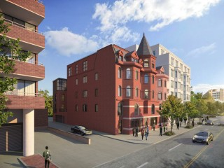 A Mullett Redevelopment: 15 Units Proposed for a Pair of Rowhouses in DC's West End
