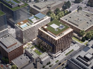 166 Apartments, 221 Hotel Rooms: Second-Stage PUD Filed for Capitol Crossing's Next Phase