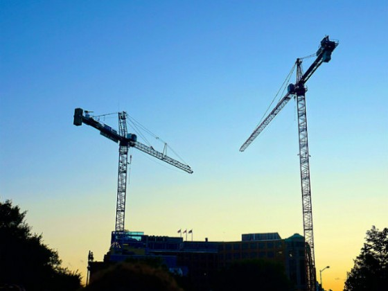 DC Has the Most Cranes in the Sky of Any U.S. City