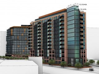 A More Vivid Look at 557-Unit Development Proposed Near Dave Thomas Circle
