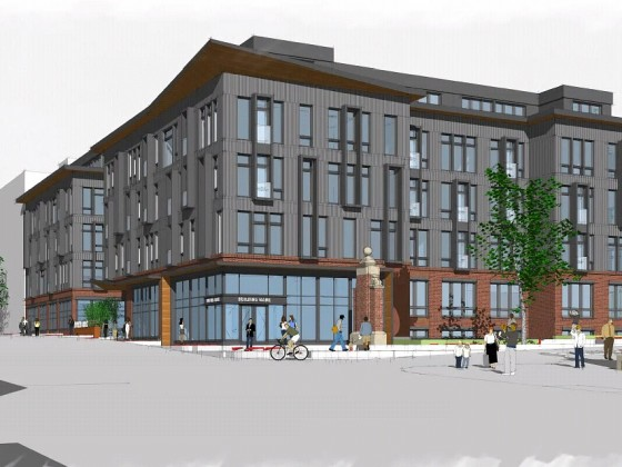 90 Units and University Uses: The New Plans for a Howard Property on Georgia Avenue