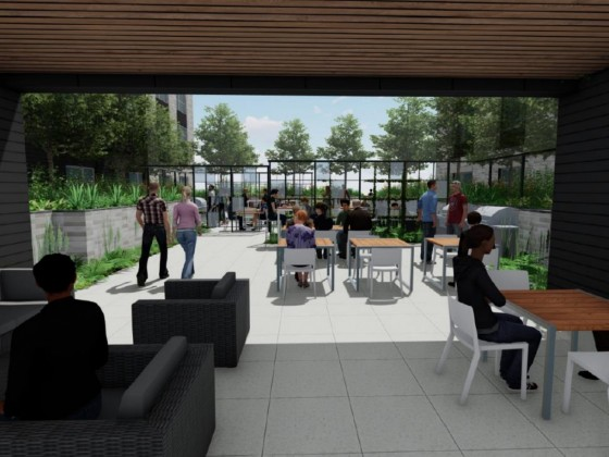 Live-Work Units Added to 300-Unit Development North of Downtown Bethesda