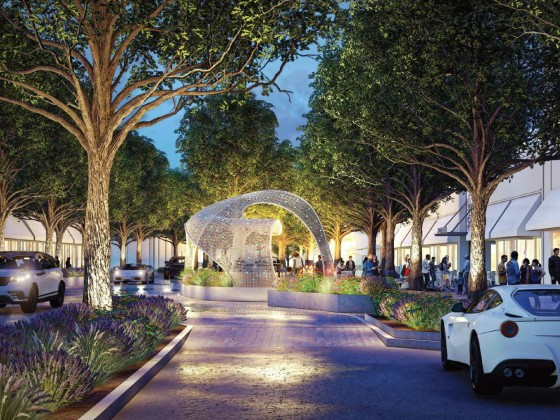 A Sculptural Entrance and a Shared Street: The Plans for Shirlington's Public Space